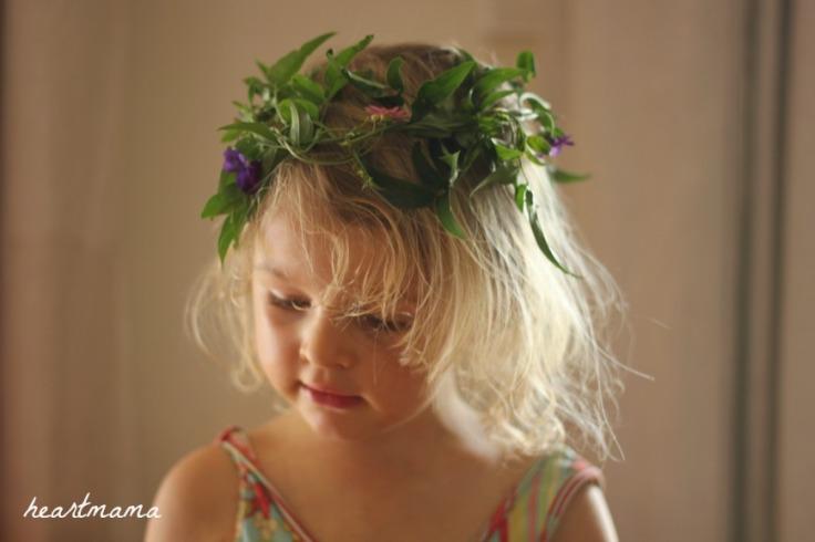 Flower crown craft