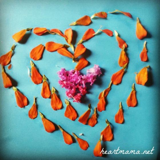 Transient flower art