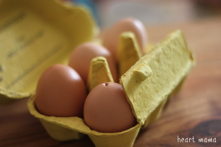 Blown eggs