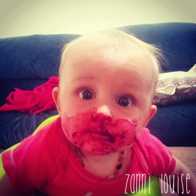 Beetroot face